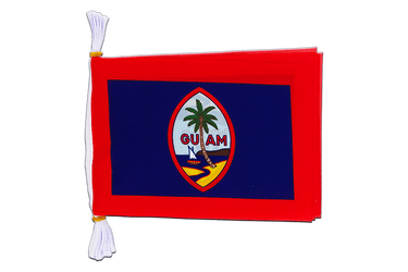 "USA Guam - Mini Flag Bunting 6x9"", 3 m"