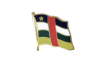 Central African Republic Flag Lapel Pin