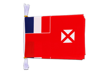 "Wallis and Futuna - Mini Flag Bunting 6x9"", 3 m"