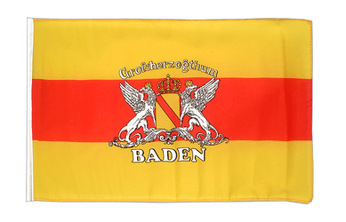 Baden with crest 12x18 in Flag