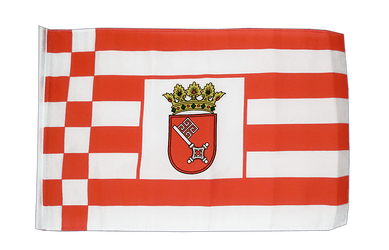Bremen 12x18 in Flag