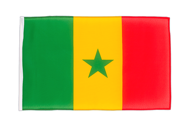 Senegal 12x18 in Flag