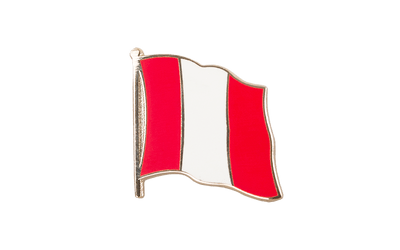 Peru without crest Flag Lapel Pin