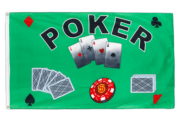 Poker 3x5 ft Flag