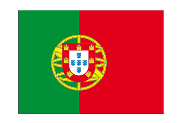 "Portugal Flag Sticker 3x4"", 5 pcs"