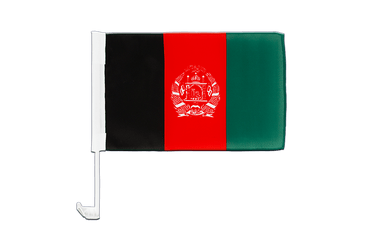 Afghanistan - Car Flag 12x16""