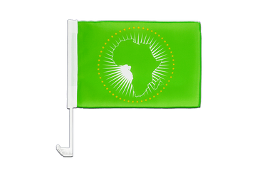 African Union AU Car Flag 12x16""