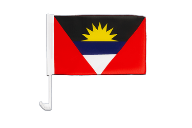 Antigua and Barbuda Car Flag 12x16""