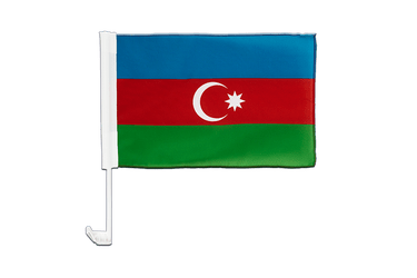 Azerbaijan - Car Flag 12x16""