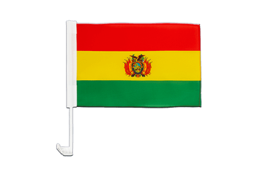 Bolivia Car Flag 12x16""