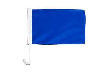 Blue Car Flag 12x16""