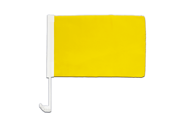 Yellow - Car Flag 12x16""