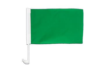 Green Car Flag 12x16""