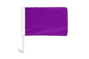Purple - Car Flag 12x16""