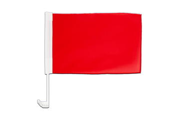 Red Car Flag 12x16""