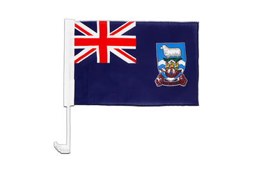 Falkland Islands Car Flag 12x16""