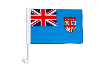 Fiji Car Flag 12x16""