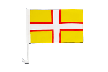 Dorset Car Flag 12x16""