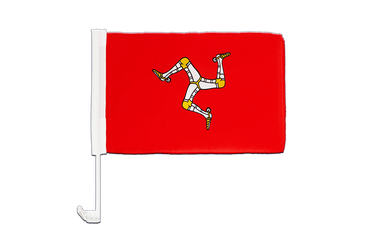 Isle of man - Car Flag 12x16""