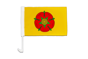 Lancashire new - Car Flag 12x16""