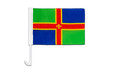 Lincolnshire Car Flag 12x16""