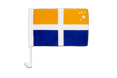 Drapeau de voiture Sorlingues Îles Scilly 30 x 40 cm