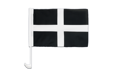 St. Piran Cornwall Car Flag 12x16""