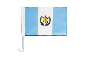Guatemala Car Flag 12x16""