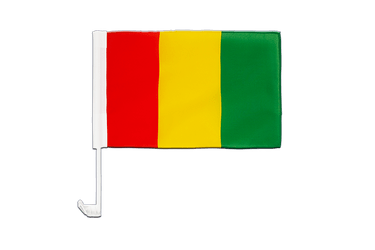 Guinea Car Flag 12x16""