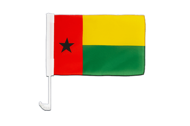 Guinea-Bissau - Car Flag 12x16""
