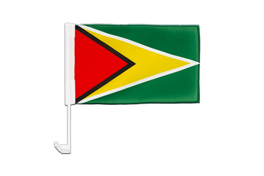 Guyana Car Flag 12x16""