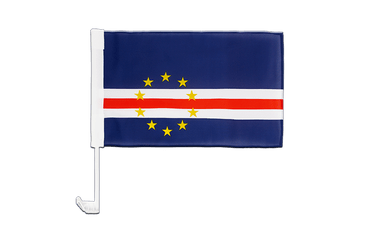 Cape Verde - Car Flag 12x16""