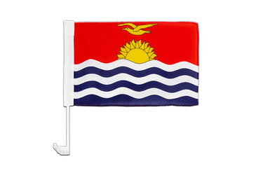 Kiribati Car Flag 12x16""