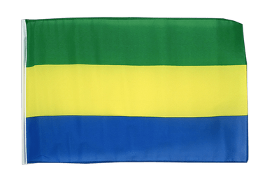 Gabon 12x18 in Flag