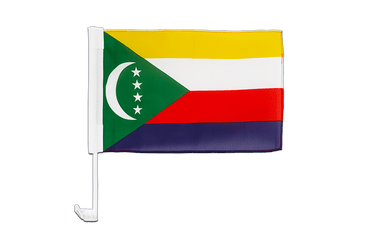 Comoros Car Flag 12x16""
