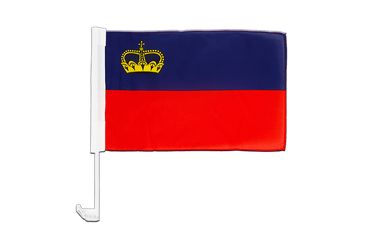 Liechtenstein - Car Flag 12x16""