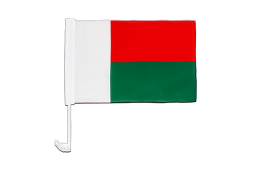 Madagascar Car Flag 12x16""