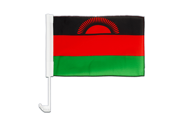 Malawi Car Flag 12x16""