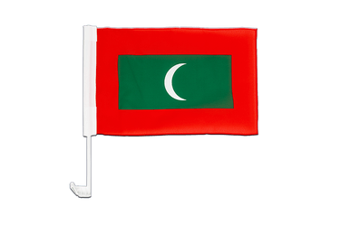 Maldives - Car Flag 12x16""
