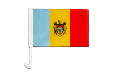 Moldova Car Flag 12x16""