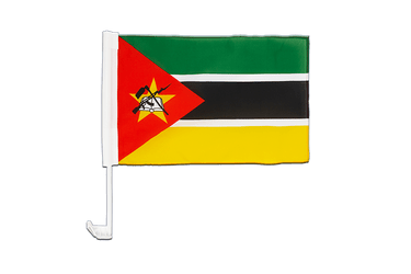 Mozambique Car Flag 12x16""