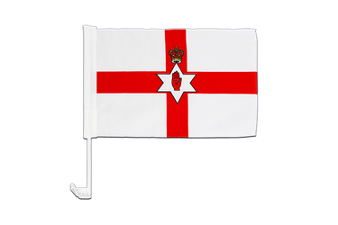 Northern Ireland Car Flag 12x16""