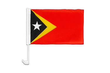 East Timor - Car Flag 12x16""