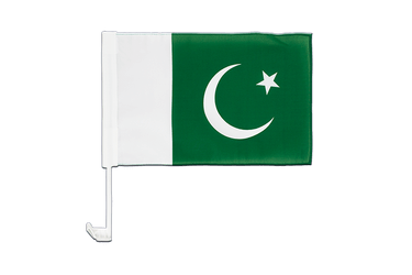 Pakistan Car Flag 12x16""