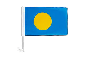 Palau Car Flag 12x16""