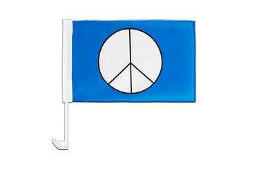 Peace CND - Car Flag 12x16""