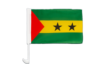 Sao Tome and Principe - Car Flag 12x16""