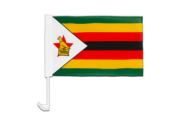 Zimbabwe - Car Flag 12x16""