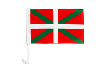 Basque country Car Flag 12x16""