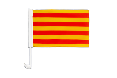 Catalonia Car Flag 12x16""